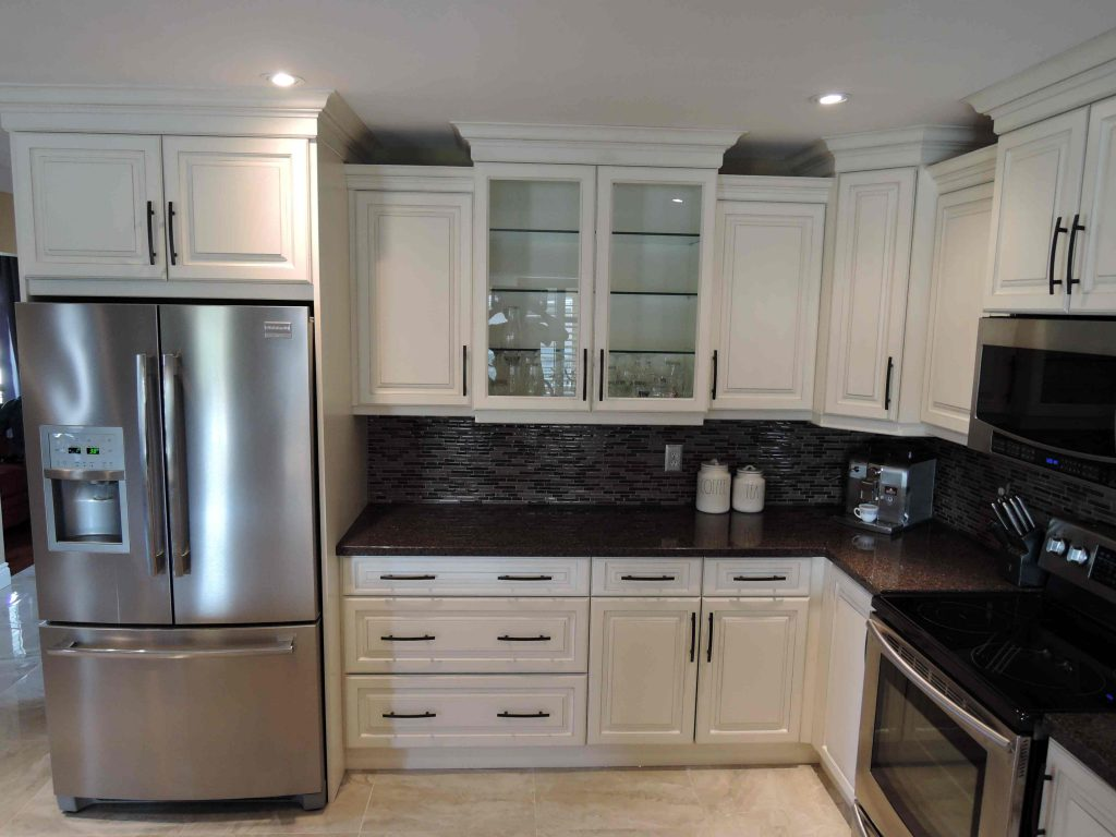 Save Your Granite; Reface Bottom Cabinets and Customize Top