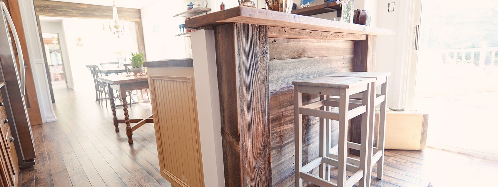 Reclaimed Wood Kitchen