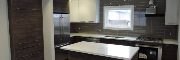 High Gloss Mixed With Laminate – We Love This Look: