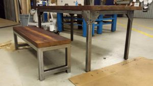 Custom Harvest Table Burlington - Stefand Woodwork (2)
