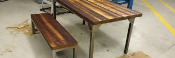 Custom Harvest Tables Burlington – By Stefand Woodwork