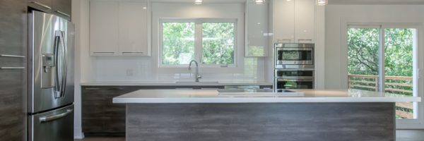 Modern Kitchens Burlington – Mixing Materials is our Speciality