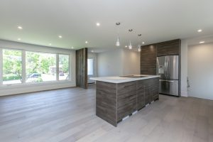 High Gloss Mixed with Laminate Kitchen Burlington