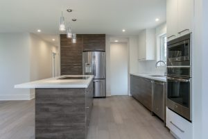 High Gloss Mixed with Laminate Kitchens Burlington