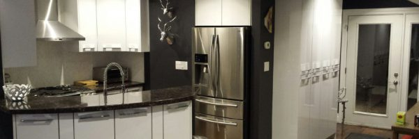 High Gloss Kitchens by Stefand, Burlington