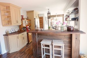 Rustic Kitchen - Reclaimed Wood Kitchen - Stefand Woodwork