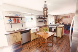 Rustic Kitchens Burlington, Reclaimed Wood Kitchens Burlington - Stefand Woodwork