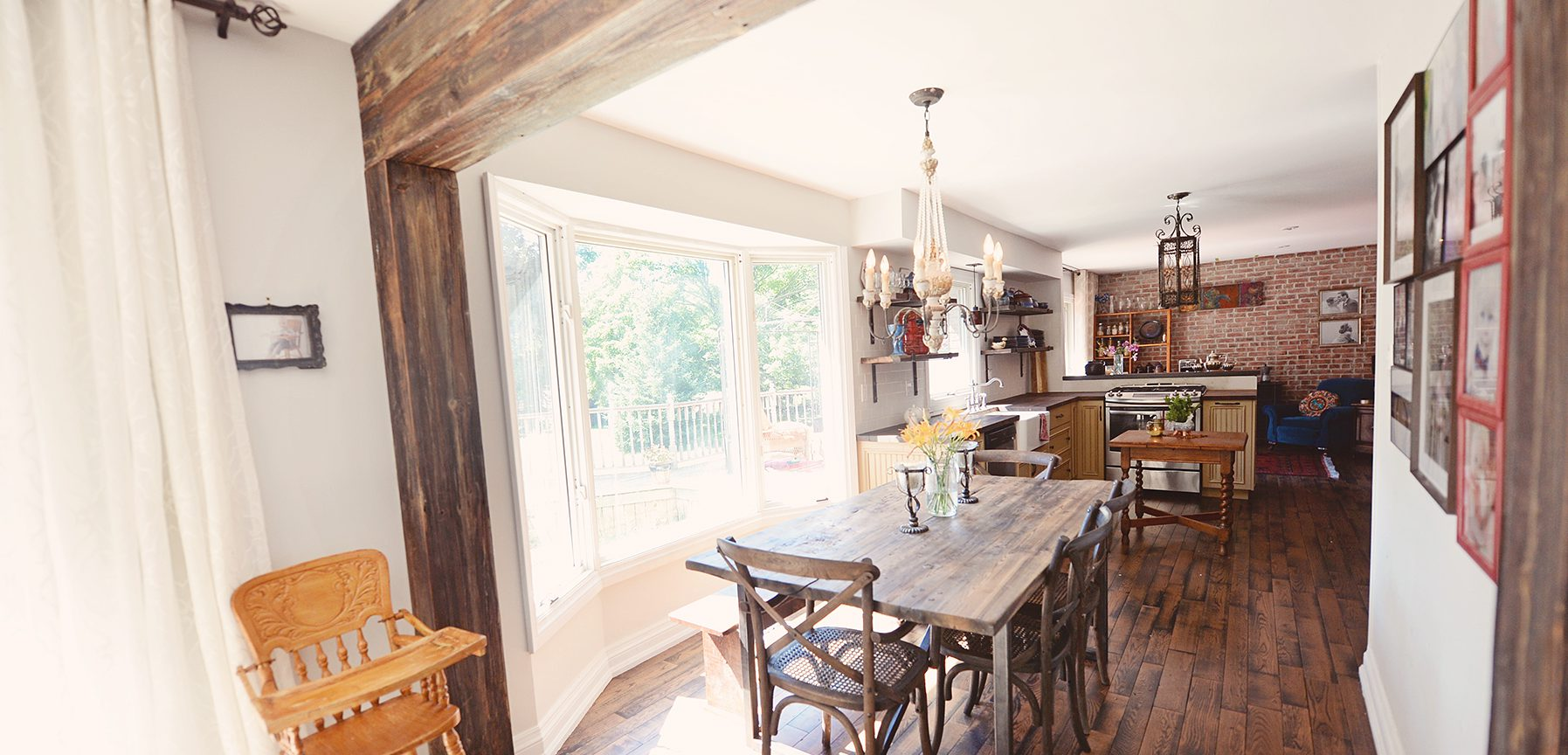 Rustic Kitchen - Reclaimed Wood Kitchen - Stefand Woodwork Burlington